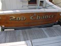 boat transom artwork lettering  fairfield ct