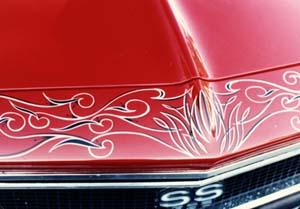 Sign Creations Auto Pinstriping Southport Westport Fairfield Bridgeport Weston Norwalk Easton Wilton Ct